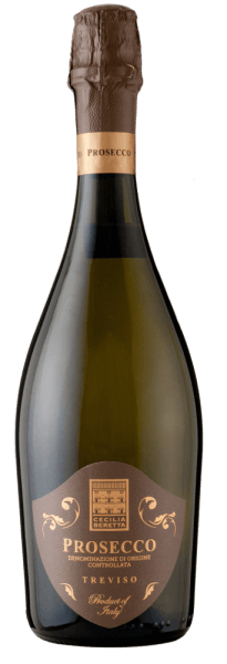 The Prosecco Treviso DOC Extra Dry by Cecilia Beretta glows in the glass in a light straw yellow while unfolding its magnificent bouquet. This is characterized by the delicate aromas of glycines and fresh nuances of citrus fruit. On the palate, this Italian sparkling wine is fruity and juicy. A true treat that suits every occasion. Food recommendation for the Cecilia Beretta Prosecco Treviso DOC Enjoy this extra dry prosecco as an aperitif, with fish or with fruit and desserts.