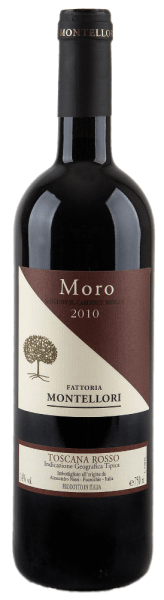 This cuveé consists of 75% Sangiovese, 15% Cabernet Sauvignon and 10% Merlot. Moro Toscana IGT - Fattoria Montellori exudes a bouquet whose scents are reminiscent of forest honey, vanilla and black cherries. This rosso has an enormous aroma and a lot of power for its price range! It goes well with strong casseroles and gratins as well as with red meat and game.