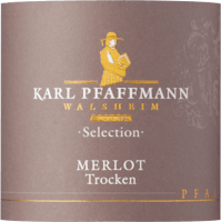 Vorschau: Merlot Selection trocken 2015 - Karl Pfaffmann