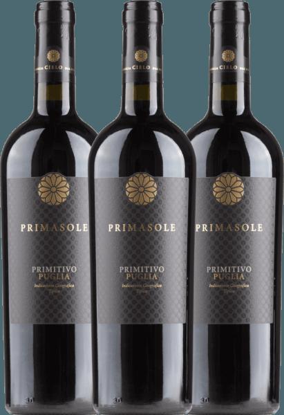 3er Vorteils-Weinpaket - Primasole Primitivo 2019 - Cielo e Terra