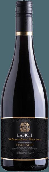 Pinot Noir Winemakers Reserve Marlborough 2018 - Babich