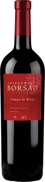 """Lovers of exquisite aromas beware: the Crianza Selección Campo de Borja DO from Bodegas Borsao pampers with a great combination of berry notes, which are harmoniously complemented with shale and tobacco notes. A full Spanish red wine, as we love it. Tasting note/tasting of Crianza Selección Campo de Borja DO TheBorsao Crianza Selección Campo de Borja DO by Bodegas Borsaocaptivates with a very deep cherry red colour and elegant ruby to garnet red reflections.The nosepampers this red wine cuvée with intense aromas of blackberry, slate and tobacco. In the finish, aromas of blueberries, sour cherries and vanilla become clear. A very complex spectrum, which is by no means overwhelming.Overall, an extremely elegant and rich red wine with a beautiful depth of aroma, which has not been awarded many times in vain. Vinification/ production of Borsoa Crianza Seleccióne Bodegas Borsao has for many years been a first-class, constant and also extremely pleasant address for red wines as you can only wish for. The wines produced here are always clear and fruity, concentrated, always fresh with animating acidity. The approximately 620 small producers who have joined forces to form this cooperative know how to exploit the full potential of the quaint region of Campo de Borja. At an altitude of 350 to 750 metres, they cultivate almost 2,400 hectares of vineyards with very old vines, which fortunately survived the phase of new plantings of international grape varieties in the 1980s and 1990s.In the wine cellar of the cooperative, chief oenologist José Luis Chueca likes to draw on tried and tested products: cement tanks and barriques are used here, wine is produced according to traditional principles. For Chueca, the quality of the grape counts, because it cannot be replaced by anything in the cellar.The indigenous Garnacha grape variety plays a primary role in Bodegas Borsao; it is believed to originate in Aragon, as it is also called """"Tinto Aragonéz"""" in Spain. Over the centuries, the """