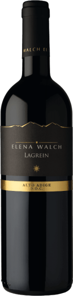 The Lagrein by Elena Walch appears in the glass with an intense and dense, garnet color and unfolds its multi-layered bouquet, with subtly spicy aromas, with cocoa and with forest berries and heart cherries in the background. A distinctive tannin structure, supple freshness and a juicy, long finish convince the palate. Vinification for the Lagrein by Elena Walch The vineyards are located in Tramin and Caldaro, these areas are characterized by their mild climate and, on the south side of the Alps, very Mediterranean climate. About 1800 hours of sunshine every year and maximum temperatures of up to 30 ° Celsius offer the perfect conditions for winegrowing. The traditional mash fermentation of 10 days takes place at controlled temperature in the steel barrel. Subsequently, the biological acid degradation and storage in the large wooden barrel made of French and Slavonic oak. Food recommendation for the Lagrein by Elena Walch Enjoy this dry red wine with venison, dark meat or spicy cheese.