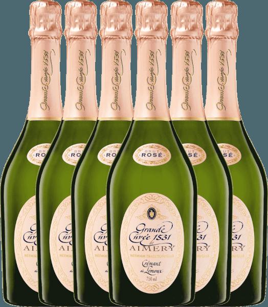 6er Vorteilspaket - Aimery Grande Cuvée 1531 Rosé Crémant Brut - Sieur d'Arques