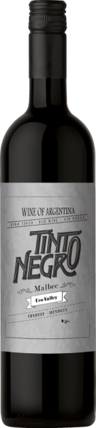 The Malbec Uco Valley by Tinto Negro shines in a beautiful ruby red in the glass. The nose enjoys intense floral aromas reminiscent of violets. The bouquet is accompanied by ripe dark fruits, especially ripe black cherries and juicy blackberries. On the palate, this Argentinian red wine is wonderfully balanced with velvety texture. The finale is pleasantly fresh and long lasting. Vinification of Tinto Negro Uco Valley Malbec After harvesting, the grapes are macerated cold for 5 days. This is followed by a 17-day fermentation at a maximum temperature of 22 °C. This gives this red wine its fresh type and full fruit. 10% of this wine is rounded off for 9 months in French oak barriques. Food recommendation for Malbec Uco Valley Tinto Negro Enjoy this dry red wine from Argentina with juicy beef steak with crisp salad, lamb fillets with swirled potatoes or with ripe cheeses. Awards for Uco Valley Malbec by Tinto Negro Stephen Tanzer: 89 points for 2014 Wine Enthusiast: 88 points for 2014 Robert M. Parker: 89 points for 2014