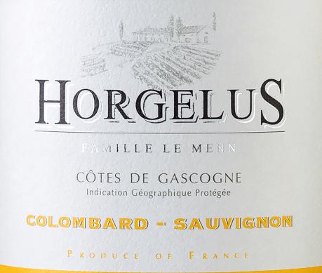 Horgelus Blanc Côtes de Gascogne 2019 - Domaine Horgelus von Domaine Horgelus