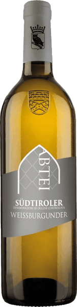 The South Tyrolean Pinot Blanc from Muri-Gries Abbey is presented in a greenish to pale yellow colour in the glass. The nose is filled with a fresh, vibrant feeling with dignified fullness. The aroma is reminiscent of aromas of apple and pear, combined with some spice. On the fresh, fruity palate, Weißwien impresses with finesse, good structure and a beautiful interplay of acidity, fruit and body. Serving suggestion/Food pairing Serve the Pinot Blanc from South Tyrol with starters, steamed fish or lightly seasoned, light meat dishes.