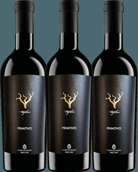 3er Vorteils-Weinpaket - Trefilari Primitivo 2019 - Cantina Sampietrana