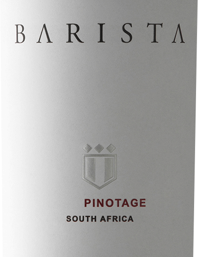The Pinotage by Barista from the South African wine-growing regionWestern Cape is an exceptional, grape-varietal and fashionable red wine that interprets the characteristic South African grape Pinotage inthe coffee style. In the glass, this wine has a rich ruby red with purple highlights. The nose enjoys an expressive bouquet that reveals intensely fruity aromas of ripe mulberries, juicy plums and maraschino cherries - perfectly accompanied by sweet notes of vanilla, espresso and mocha chocolate. Even on the palate, the wonderful aroma continues and merges with the juicy tannins and the soft texture. The substance-rich body also knows how to present itself and accompanies itself in the pleasantly spicy long finale. Vinification ofBarista Pinotage Responsible for this red wine is the cellar master Bertus Fourie, who uses Pinotage grapes from Robertson. This wine is vinified in the Val de Vie winery. The harvested material is classically fermented in stainless steel tanks and, after the fermentation process is completed, aged in French oak barrels. Food recommendation for the Pinotage of Barista Enjoy this dry red wine from South Africa with fried duck breast, crispy roasted pork belly or with the Italian classic pizza. But this wine is also a treat for desserts with chocolate and roasted coffee beans.