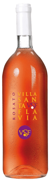 The Rosato Villa Santa Flavia by Sacchetto presents itself in a vibrant rosé that easily blends into cherry red.The nose reveals a small fruity bouquet with aromas of blackcurrants and cherries. On the palate, fresh liveliness and mild drinkability are beautifully balanced. It looks pleasantly harmonious and offers a unique and fruity taste experience!Enjoy this cuveé as an aperitif, with starters and soups of all kinds as well as with meat and vegetable casseroles.