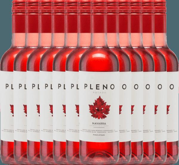12er Vorteils-Weinpaket - Pleno Rosado DO 2020 - Bodegas Agronavarra