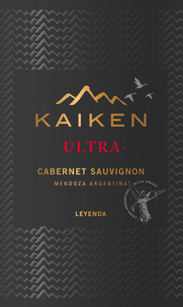 Ultra Cabernet Sauvignon from Viña Kaiken is a full-bodied Argentine red wine made from Cabernet Sauvignon (96%) and a small portion of Malbec (4%). The deep red colour of this red wine resembles an intensely sparkling ruby. An elegant and complex bouquet reveals itself with intense aromas of ripe red berries, tobacco and spices, accompanied by vanilla notes. On the palate it develops a dense, full-bodied taste of plums, red currants and mocha. This Argentine red wine has a good structure with ripe, round and soft tannins. A great, sumptuous and delicious finish with an enormously long chocolate aftertaste crowns this red wine. Vinification of Kaiken Ultra Cabernet Sauvignon After the grapes have been carefully hand-picked, they are cold crushed at 10°C for a total of 7 days. The grapes are then fermented at a controlled temperature (25 to 28°C) for 10-12 days. This red wine remains on the skins for 15 days so that the wonderful colour, the wonderful aromas and the soft tannins can develop perfectly. 80% of this wine is rounded off for 12 months in French oak barriques - the remaining 20% remains in stainless steel tanks. Food recommendation for Bodega Kaiken Cabernet Sauvignon Ultra Serve this dry red wine from Argentina with fresh pasta or red meat (lamb, beef, pork) with spicy sauces and creamy cheeses.
