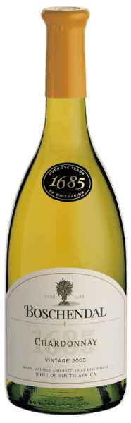 The 1685 Chardonnay from Boschendal displays a beautiful golden yellow colour in the glass. The scent of lemons, nutmeg and cinnamon fills the nose. On the palate, this poignant character continues; nuances of ripe, tropical fruits come along. The tongue can also detect light vanilla nuances. This noble bottle creates a creamy mouthfeel and has a soft, accessible character. The Boschendal 1685 Chardonnay ends with a harmonious and well-rounded finish. Dishes with fish or poultry taste delicious together with the 1685 Chardonnay. It is also always a true taste adventure with soft, mature cheese or dishes with rich sauces!
