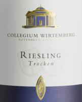 Vorschau: Riesling trocken 1,0 l 2019 - Collegium Wirtemberg