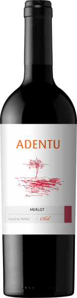 The Adentu Merlot from Vina Siegel is a pure red wine with a wonderful ruby red colour in the glass. Intense notes of ripe heart cherries and fresh herbs unfold in the nose. The aromas of the nose are accompanied by nuances of mint. On the palate there is a fleshy body that harmonizes perfectly with the lush fruit and balanced tannins. The finale is wonderfully soft. Food recommendation for the AdentuMerlot This dry red wine from Chile is a perfect accompaniment to a wide variety of casseroles (whether with meat or vegetarian), savoury potato buffets or even pork medallions with fresh beans.