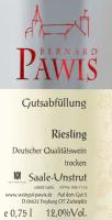 Vorschau: Riesling trocken 2020 - Pawis