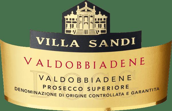Prosecco Superiore Valdobbiadene Spumante Extra Dry DOCG - Villa Sandi von Villa Sandi