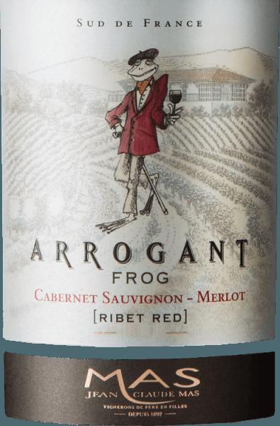 Ribet Red Cabernet Sauvignon Merlot 2019 - Arrogant Frog von Arrogant Frog