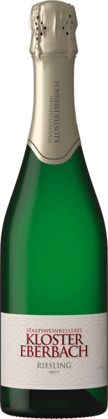 Der Riesling Sekt brut von Kloster Eberbach ist ein wundervoller Schaumwein aus dem deutschen Anbaugebiet Rheingau. Im Glas präsentiert sich dieser Wein in einem zarten Strohgelb mit anhaltender Perlage in feinen Perlenschnüren. Die intensiven Aromen nach gelben Steinobst (Aprikose und Pfirsich) zusammen mit Noten nach saftigen Äpfeln verwöhnen die Nase. Am Gaumen besitzt dieser deutsche Schaumwein eine süß gereifte Apfelfrucht mit Anklängen nach Kräutern. Dieser Sekt ist wunderbar zugänglich und unkompliziert. Speiseempfehlung für den Kloster Eberbach Riesling Sekt Dieser Schaumwein aus Deutschland ist ein hervorragender Begleiter zu Meeresfrüchten, Krustentieren und leichten Fischspeisen. Aber auch zu Desserts oder gut gekühlt als Aperitif ein wahrer Genuss.