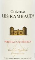 Vorschau: Château Les Rambauds Bordeaux Supérieur AOC 2017 - Yvon Mau