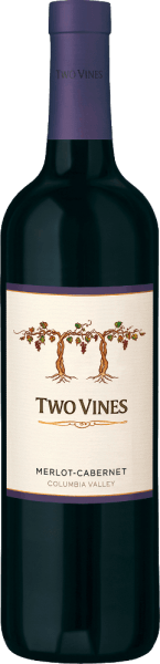 The wonderful Red Wine Cuvée Two Vines Merlot Cabernet from Columbia Crest has your home in the beautiful, American wine-growing area Washington State - Columbia Valley. A warm, deep cherry red with ruby red reflections shimmers in this wine in the glass. The fruity bouquet reveals intense aromas of juicy blackberries and blueberries, along with ripe plums and blackcurrants. Thanks to the wood finish, the bouquet is underlined by sweet vanilla notes. The fullness of the fruit is also noticeable on the palate and is very well integrated into the juicy body. The velvety soft texture harmonizes wonderfully with the gentle tannin structure. The silky finish impresses with its beautiful length and fine fruit-spicy nuances. Vinification of Columbia Crest Two Vines Merlot Cabernet At optimum ripeness, the grapes for this American red wine are harvested and immediately brought to the wine cellar of Columbia Crest. Once there, the harvested material is completely destemmed, ground and fermented in stainless steel tanks for 6 to 10 days. After alcoholic fermentation, this wine undergoes biological acid degradation both in oak barrels and in steel tanks. Finally, this wine matures for about 11 months in wooden barrels of French and American oak (multiple toppings). Food recommendation for the Merlot Cabernet Columbia Crest Two Vines Enjoy this dry red wine from the USA with spicy pasta dishes, Mediterranean vegetable casseroles and medium-strength cheese. Or pass this wine to cozy barbecues.