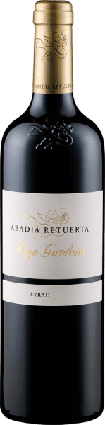 The Pago Garduña by Abadía Retuerta appears in the glass in a deep dark berry colour and unfolds an intense bouquet with aromas of blackberries, black cherries and floral hints. Spicy nuances of roasted aromas and balsamic notes complement the bouquet of this red wine. This Syrah is soft, elegant and velvety on the palate, followed by a strong and expressive reverberation. Vinification of Abadía Retuerta Pago Garduña This pure Syrah from the Ribero del Duero matured for 20 months in French oak barrels. Food recommendation for the Abadía Retuerta Pago Garduña Enjoy this dry red wine with strong dishes with meat, steaks, game or matured cheese. Awards for the Abadía Retuerta Pago Garduña Robert Parker / The Wine Advocate: 92 points for 2014 Guia Penin: 94 points for 2014 Robert Parker / The Wine Advocate: 94 points for 2013 and 2009