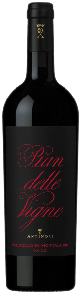 The Pian delle Vigne Brunello di Montalcino DOCG by Tenuta Pian delle Vigne is presented in an intense ruby red colour in the glass. Fruity and floral notes unfold on the nose, beautifully complemented by spicy notes and Baslamian aromas that give the wine freshness and complexity. On the palate, the Brunello by Pian delle Vigne shows a perfect creamy prelude, dry with soft and silky tannins, wonderfully round and captivating in taste. Very long, sustainable and pleasant finish. Vinification of Pian delle Vigne Brunello di Montalcino DOCG by Tenuta Pian delle Vigne Brunello di Montalcino is 100% produced from the Sangiovese grosso grape variety, which is called Brunello in this area. In the vineyard and in the wine cellar, the grapes are preselected, then destemmed and gently pressed, filled into stainless steel containers, where the alcoholic fermentation and subsequent maceration on the peels, as well as malolactic fermentation take place for about three weeks at a controlled temperature of 28°C. The wine is then transferred to large oak barrels with a capacity of 30 to 80 hectolitres, where it is aged for a long time before being bottled almost two and a half years later in April. Only after a further rest period in the bottle store will it be put on sale. Food recommendations for the Pian delle Vigne Brunello di Montalcino DOCG We recommend this iconic red wine from Tuscany with braised and grilled meat dishes with strong sauces, game, spicy dishes and aromatic cheeses. It is recommended to open the Pian delle Vigne Brunello di Montalcino about 4 hours before enjoyment. Awards for the Pian delle Vigne Brunello di Montalcino DOCG by Tenuta Pian delle Vigne Falstaff: 96 points for 2015 James Suckling: 94 points for 2015 Wine Enthusiast: 94 points for 2015 Antonio Galloni: 94 points for 2015 Gambero Rosso: 2 glasses for 2012 James Suckling: 94 points for 2012 and 2011, 96 points for 2010 Wine Spectator: 94 points for 2012, 93 points for 2010 Decanter: 93 points for