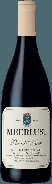 Meerlust Pinot Noir Wine of Origin Stellenbosch 2018 - Meerlust Wine Estate