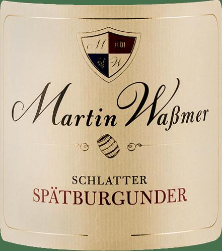 Schlatter Spätburgunder SW 2017 - Martin Waßmer von Martin Waßmer
