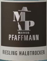 Vorschau: MP Riesling halbtrocken 2020 - Markus Pfaffmann