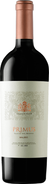 The Salentein Primus by Bodegas Salentein is a varietal Mendoza Malbec, with deep ruby red, violet reflections and a nearly black core in the glass. The bouquet of this Argentine red wine is reminiscent of dark fruits such as blackberries, blueberries, blackcurrants and elderberries. It is complemented by fine nuances of the barrel maturity, which remind of wintry spices such as cinnamon, vanilla and clove. If the Salentein Primus Malbec finally reaches the palate, it delights with great fullness, soft but wonderfully present tannins and fresh, vital fruit acidity. An excellent structured wine with outstanding length and balance. Vinification for the Primus Malbec by Bodegas Salentein This varietal Malbec fermented in large wooden barrels before being aged for 14-16 months in new French oak barrels. Before bottling the Primus Malbec was not filted. Food recommendation for the Primus Malbec by Bodegas Salentein Enjoy this dry red wine with savoury meat dishes such as Wellington beef fillet, lamb with a herb crust and balsamic sauce or with steaks. Awards of the Primus Malbec by Bodegas Salentein Wine Spectator 2017: 90 points Mundus Vini 2017: Gold Tim Atkin 2017: 93 points