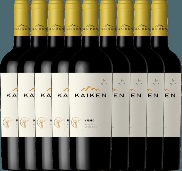 9er Vorteils-Weinpaket - Kaiken Malbec 2019 - Viña Kaiken