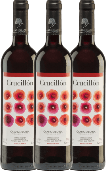 3er Vorteils-Weinpaket - Crucillón DO 2019 - Bodegas Aragonesas