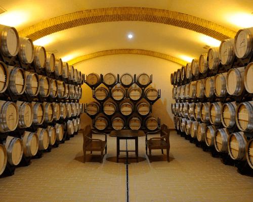 Der Weinkeller von Huerta de Albala