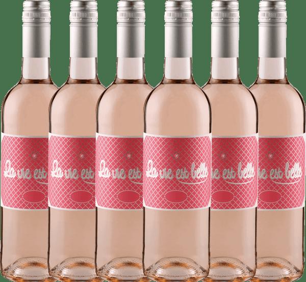 6er Vorteils-Weinpaket La vie est belle Rosé 2020 - La vie est belle