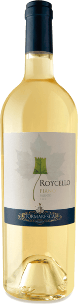 The Roycello Fiano Salento IGT by Tormaresca sparkles in the glass straw yellow with greenish reflections, revealing its complex and fruity bouquet. This caresses the nose with the aromas of white peach and citrus fruits. These notes are complemented by floral hints of jasmine and delicate herbal nuances. On the palate, this Italian white wine starts soft, followed by an invigorating crispiness and a pleasant acidity. Vinification for the Tormaresca Roycello Fiano Salento IGT The grapes for this varietal Fiano come from vineyards of the Tenuta Maìme in the province of Brindisi in Puglia. The grapes were harvested at the optimal maturity. The must was kept cold to achieve a natural clarification. After the alcoholic fermentation, the wine has been aged for 4 months on its yeasts in stainless steel tanks. A short maturation on the bottle gives the Roycello its final touch. Food recommendation for the Roycello Fiano Salento by Tormaresca Enjoy this dry white wine as an aperitif or with sushi and chicken. Awards for the Roycello Fiano Salento IGT from Tormaresca Gambero Rosso: 1 glass for 2016 James Suckling: 90 points for 2015 Vini Buoni d'Italia: 3 stars for 2014