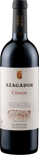 The Azagador Crianza DO by Pago de la Jaraba presents itself in the glass in a bright ruby red and unfolds intense berry notes, which are accompanied by the nuances of eucalyptus and menthol. On the palate, this cuvée from the grape varieties Tempranillo, Cabernet Sauvignon and Merlot is present with a fine spice and elegant wood notes. A soft and elegant Spanish red wine. Food recommendation for the Azagador Crianza DO by Pago de la Jaraba Enjoy this dry red wine with pasta with tomato sauces, strong dishes of pork and beef, as well as lamb and game or strong hard cheese. Awards for the Azagador Crianza DO by Pago de la Jaraba Guia Penin: 84 points (vintage 2009) Daejeon Wine Trophy: Silver (vintage 2009) Wine industry: Top 100 of 2011 (vintage 2008)