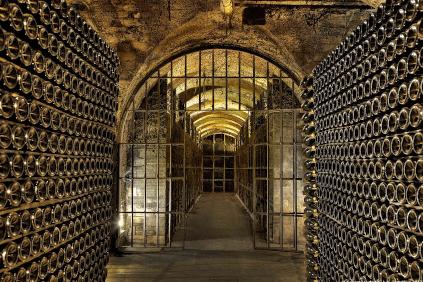 In the wine cellar of Segura Viudas