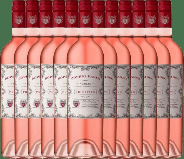 12er Vorteils-Weinpaket - Doppio Passo Rosato IGT 2020 - CVCB