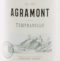 The deep red colour of Agramont Tempranillo Roble DO Navarra by Bodegas Agronavarra resembles a sparkling ruby. A beautiful fruity-spicy fragrance, dominated by black berries (blackberries, blackcurrants, blueberries) and accented by distinctive vanilla and spice tones as well as a hint of fennel, characterizes the first impression. A full-bodied and pleasantly soft feeling develops on the palate. The taste is also determined by fruit aromas. This Spanish red wine has a beautiful interplay of fruit, acidity and tannins and ends in a juicy finish. Vinification of Agramont Tempranillo After mechanical harvesting, the grapes of the Bodegas Agronavarra are destemmed and mashed. The resulting mash is fermented in a stainless steel tank and the resulting wine is aged for 3 months in American oak barrels. Food recommendation for Agramont Tempranillo from Navarre We recommend this red wine from Spain with tapas, hearty stews, seafood and shellfish, fried fish (salmon, tuna), grilled, wild poultry (partridge, pheasant), veal, beef and soft cheese.