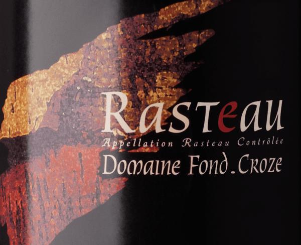 Rasteau AOC 2017 - Domaine Fond Croze von Domaine Fond Croze