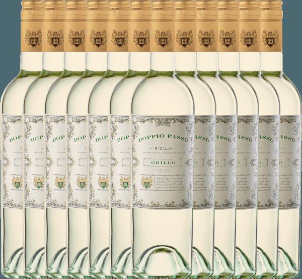 12er Vorteils-Weinpaket - Doppio Passo Grillo Sicilia DOC 2020 - CVCB