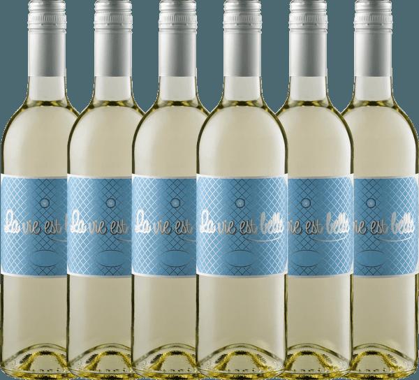 6er Vorteils-Weinpaket - La vie est belle blanc 2020 - La vie est belle