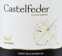 Vorschau: Raif Sauvignon Vigneti Dolomiti 2019 - Castelfeder