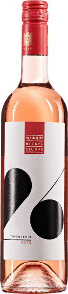 Twentysix rosé 2019 - Bickel-Stumpf von Weingut Bickel-Stumpf