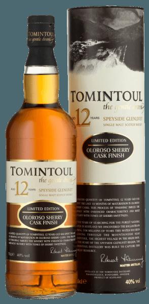 - von Tomintoul Distillery