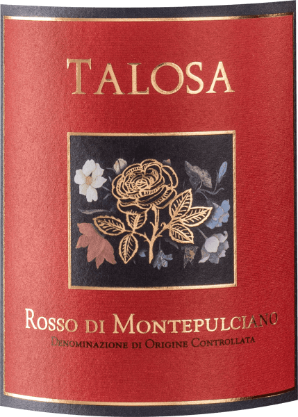 The Rosso di Montepulciano DOC by Fattoria della Talosa impresses with its sparkling ruby red with violet reflections. On the nose, this Rosso di Montepulciano presents a rich fruit of dark berries and black cherries, subtle, integrated spiciness, some black pepper as well as discreet toasted notes. Powerful in taste, full-bodied with round tannins, which end softly and harmoniously in the finish. Vinification of Rosso di Montepulciano by Fattoria della Talosa For this tasteful red wine from Tuscany, Fattoria della Talosa vinifies 85% Sangiovese and some Merlot from the younger vineyards, while the Canaiolo comes from 30-35 years old vines. The share of Merlot and Canaiolo accounts for a maximum of 15%. After the fermentation and malolactic fermentation in stainless steel tanks, the wine is partially aged for 6 to 8 months in stainless steel and partly in large wooden barrels and tonneaux already used once or twice. Food pairing for the Rosso di Montepulciano by Fattoria della Talosa Enjoy this succulent Tuscan red wine with stewed and grilled meat and game Awards Wine Spectator - 89 points for 2011