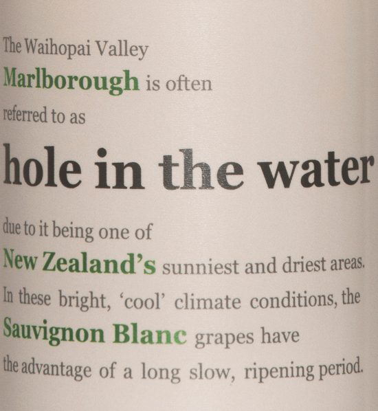 Hole in the Water Sauvignon Blanc 2019 - Konrad Wines von Konrad Wines