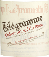 Vorschau: Télégramme Châteauneuf-du-Pape AOC 2018 - Vignobles Brunier