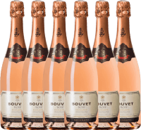 6er Vorteils-Weinpaket - Crémant Brut Rosé Excellence - Bouvet Ladubay